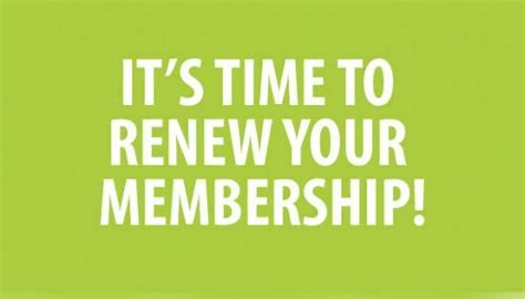 RENEW YOUR ANNUAL MEMBERSHIP TODAY!